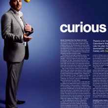 George Calombaris profile