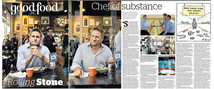 Curtis Stone profile