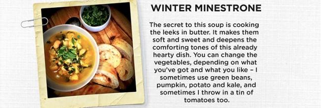 Winter Minestrone with Butter Lovin' Leeks