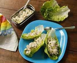 Chicken Lettuce Cups School Lunchbox recipe