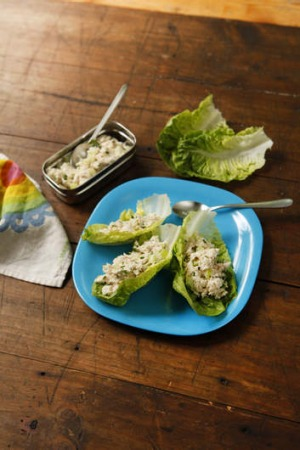 lunchbox Dani chicken lettuce cups good food