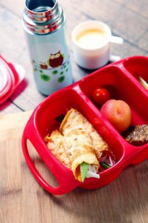 lunchbox Dani rolled omelettes good food
